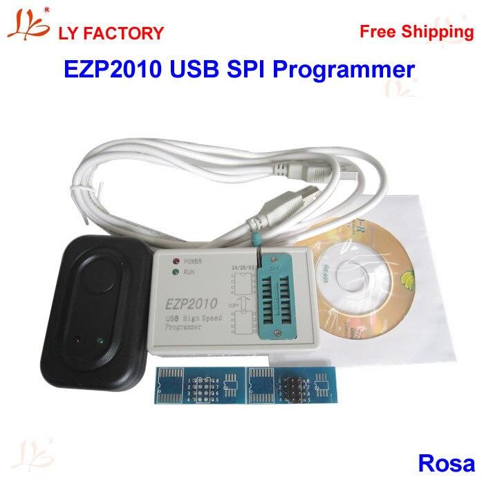 High Speed EZP2010 USB SPI Programmer jhw2013 usb 2 0 12mbps high speed programmer white green
