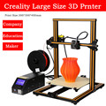 Calidad superior del envío libre extrusora escritorio 3D impresora creality CR-10 serie 3D Kit de impresora con libre Pla filamento DIY 3D impresora