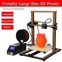 DHL Free 2017 Newest Top Quality Extruder Desktop 3D Printer Creality CR-10 3D Printer Kit With Free PLA Filament DIY 3D Printer