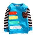 2015 autumn new cotton Children's clothing long-sleeve t-shirts 0-3 year boys long sleeve shirt girls t shirt long sleeve