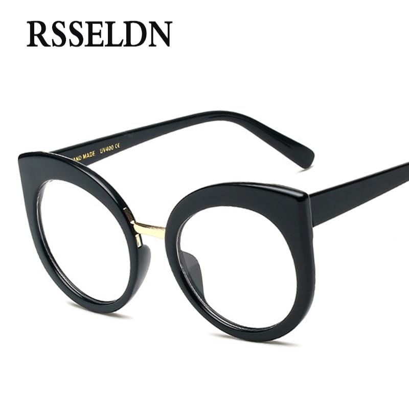 RSSELDN Neueste Mode Frauen Brillen Frames Marke Designer Cat Eye ...