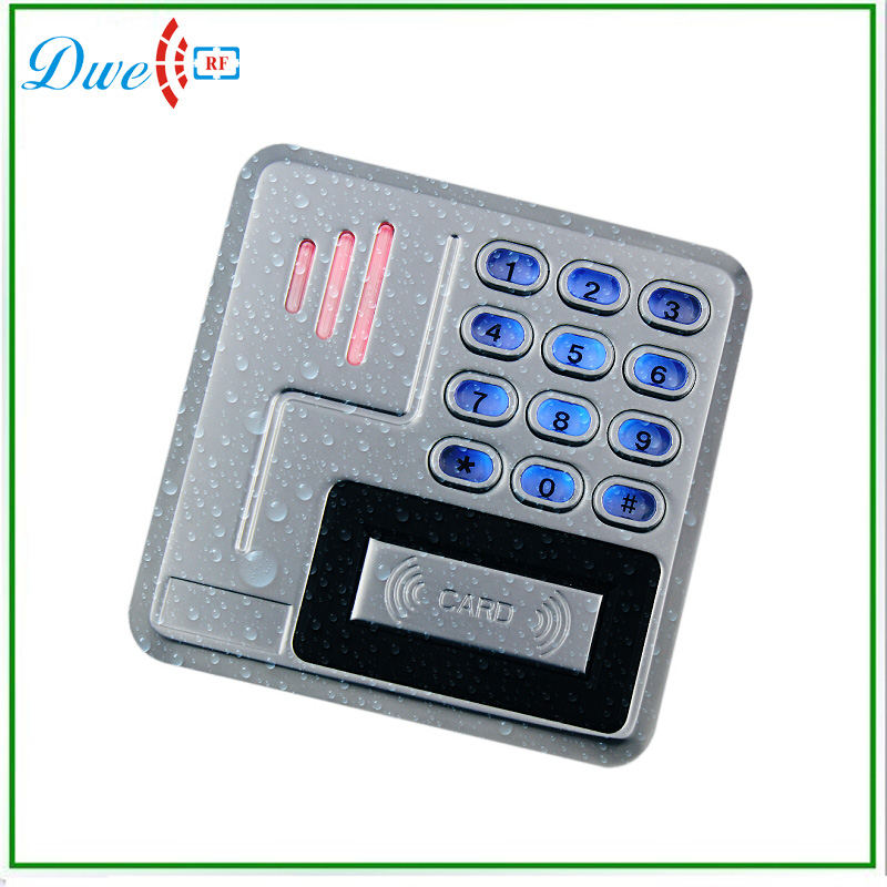 New Metal Case backlight Keypad Password Card Reader with Strong Waterproof usb pos numeric keypad card reader white