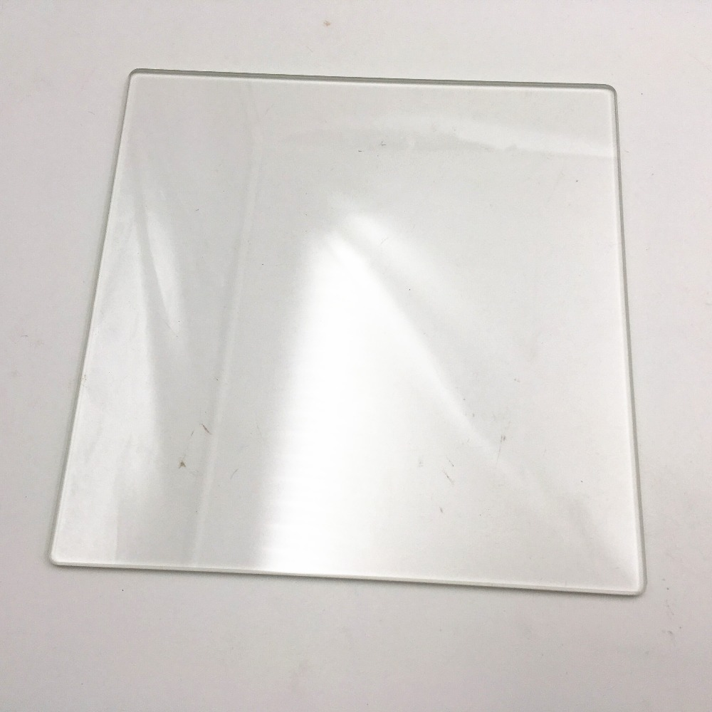 3d printer parts borosilicate glass plate 186*186*4mm boro glass bed plate for up reprap prusa rostock heating bed-in 3D Printer Parts & Accessories from Computer & Office