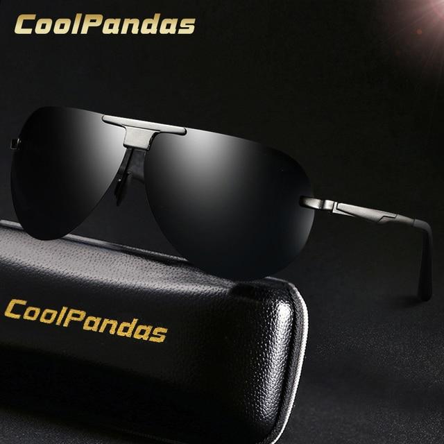 5941f4bf73ad4 2019 High Quality HD Sunglasses Men Designer Fishing Polarized Sunglass  Driving Sun Glasses Male Oculos De Sol Masculino Eyewear