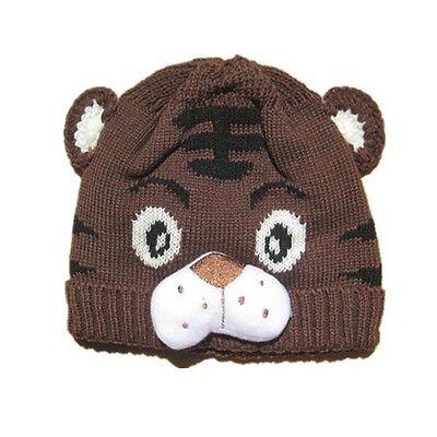 Emmababy 1pcs Baby Girls Boys Kids Toddlers Crochet Knit Cute Tiger Hat Cap Beanie Bonnet