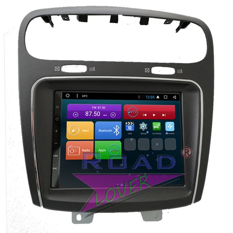 Roadlover Android 6.0 Auto Lettore DVD Autoradio Per Fiat Leap/Freemont/Dodge Journey Stereo di GPS di Navigazione Magnitol 2 Din Video