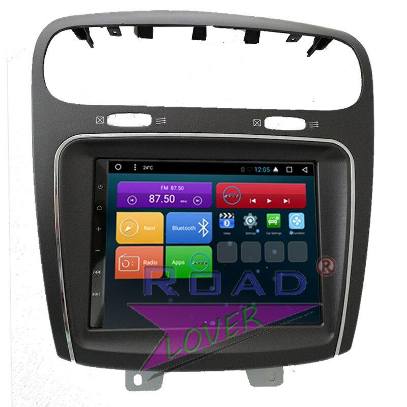 Roadlover Android 6.0 Voiture DVD Autoradio Lecteur Pour Fiat Leap Freemont Dodge Journey Stéréo GPS Navigation Magnitol 2 Din Vidéo