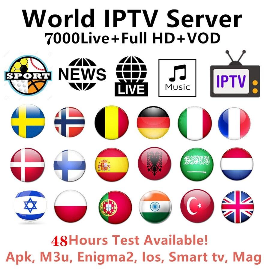 Pro IPTV Subscription Arabic Europe French Italian Polish Albania Uk Spanish Sports Iptv Code M3U Mag Free Test