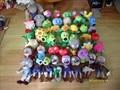 2015 Новый Плюшевые Растения Фаршированные Зомби Игры ПВЗ 2 Мягких овощей игрушки детские мягкие куклы плюшевые игрушки рис.