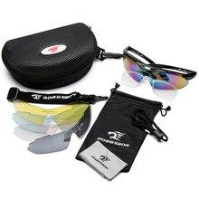 Men Women Eyewear Polarized Sunglasses Outdoor UV400 Sports Camping Cycling Sun Glasses 5 Lens Cycling Eyewear Gafas ciclismo