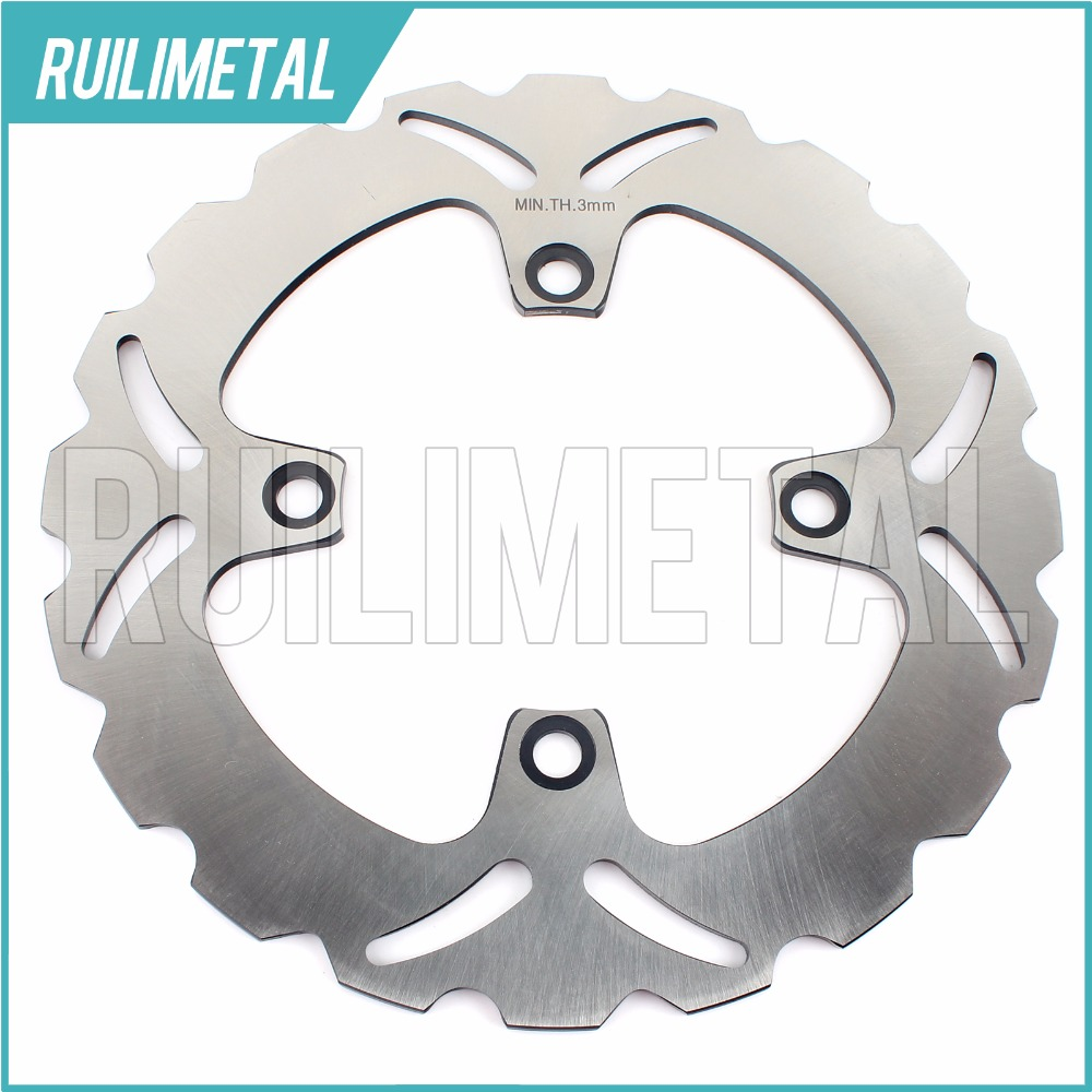 Rear Brake Disc Rotor for kawasaki  ZR 550 Zephyr  ZZR 600 E ZR 7 S ZR550 ZZR600 93 94 95 96 97 98 99 00 01 02 03 04 05 06 07 motorcycle rear brake disc rotors for zr 550 zephyr 93 01 universel