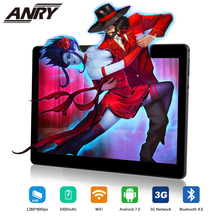 ANRY 2019 Newest 10 Inch Tablet PC 3G Quad Core 4GB RAM 32GB ROM Dual SIM 5.0MP Android 7.0 GPS Bluetooth WiFi Tablet PC 10.1 4g tablet pc 10 1 inch android 7 0 octa core google tablet dual sim phone call 32gb rom 4gb ram wifi bluetooth gps tablet pc 10