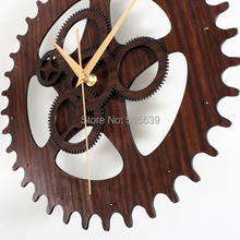 Creative Vintage Gear Wall Clock Home Decoration