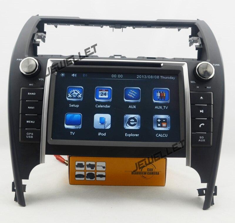 Автомобильный DVD gps радио навигации для Toyota Camry Северной Америке версии 2012 2016 с Bluetooth, iPod, 1080 P и gps радио карта