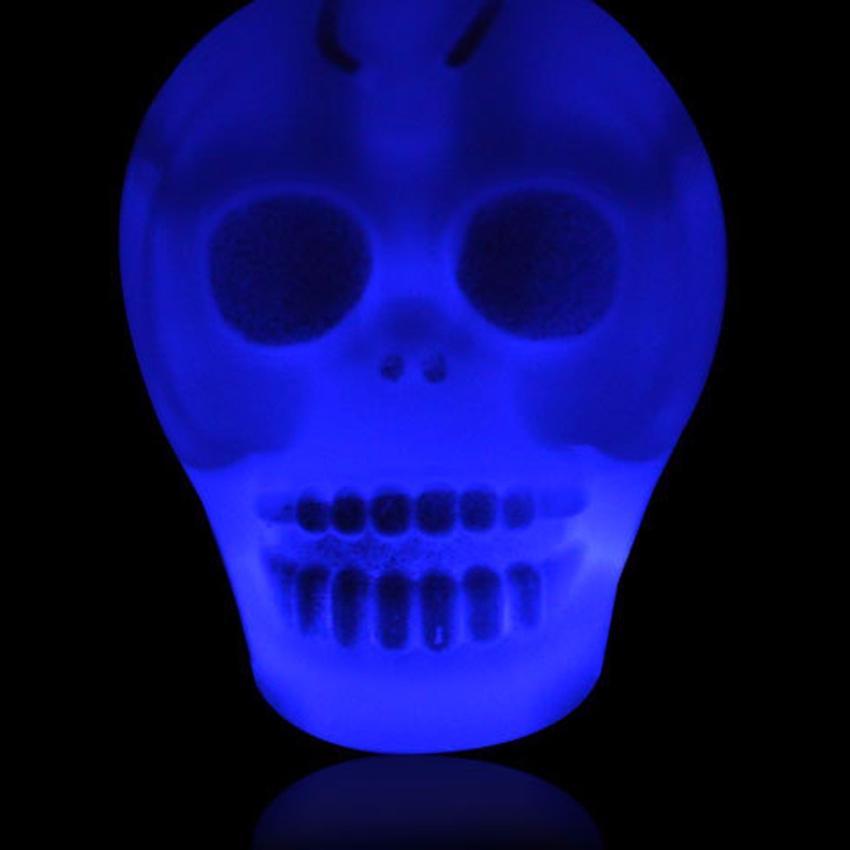 Halloween Decoraties Wacky Grappige Nieuwigheid Schedel Speelgoed Plastic Diy 33 Cm Touw Lengte Speciale Decoratie Halloween Dag C30730