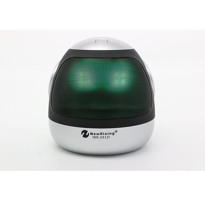 10Pcs/Lot Bluetooth Speaker Mini Portable Wireless Speaker Soundbar Super Bass Sound Box With Mic TF Card FM Radio