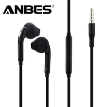 ANBES In-Ear Wired Earphone Heavy Bass Sound Stereo Music Headphones Sport Headset fone de ouvido For Samsung S6 S5 S4 Xiaomi