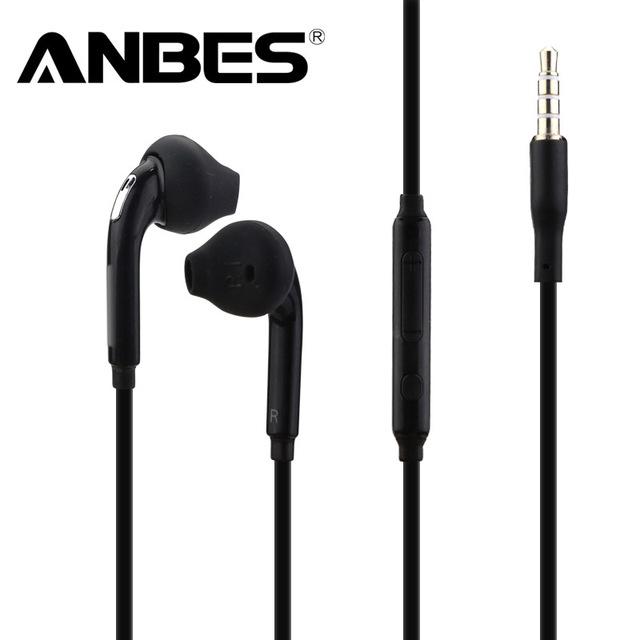 ANBES Professional In-Ear Wired Earphone Heavy Bass Sound Quality Stereo Music Headphone Sport Running Headset fone de ouvido