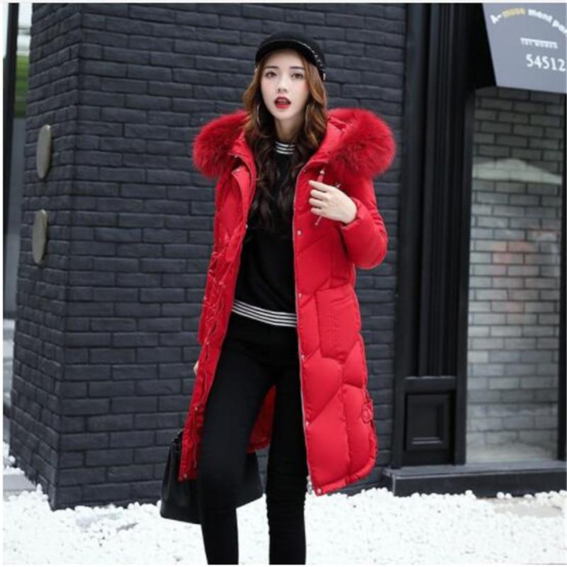 fbeb66a8c1835f Manteau Femmes Pour Zipper 5 1 Épaissir Chaud 3 Le Capuche Vers 4 2 Long  Bas L hiver Vêtements Hiver Chaqueta Femme Veste Mujer ...