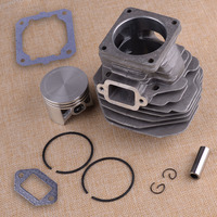 LETAOSK 50mm Piston Cylinder Assembly Kit Fit for Stihl 044 MS440 Chainsaw Rebuild