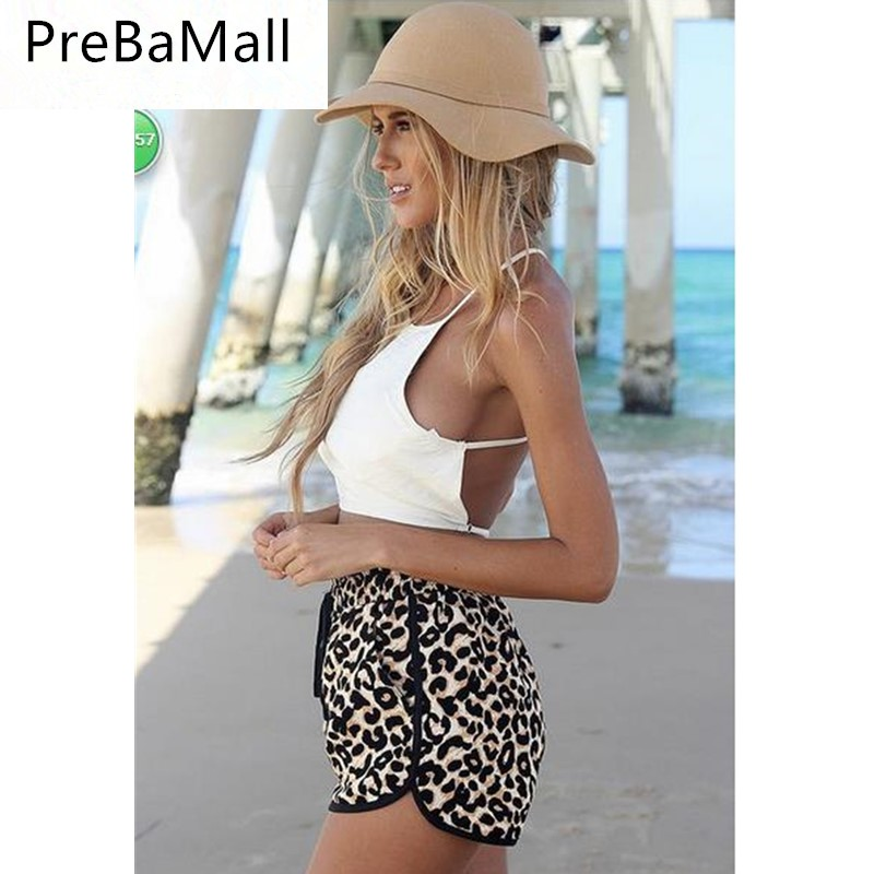 Fashion Summer Women Leopard Shorts Print Trousers Loose Charming Sexy Ladies Casual Shorts Elegant Feminino Short C112
