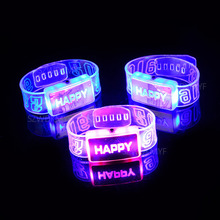 Children s Novelty font b Glow b font Fashion font b Bracelet b font Luminous light