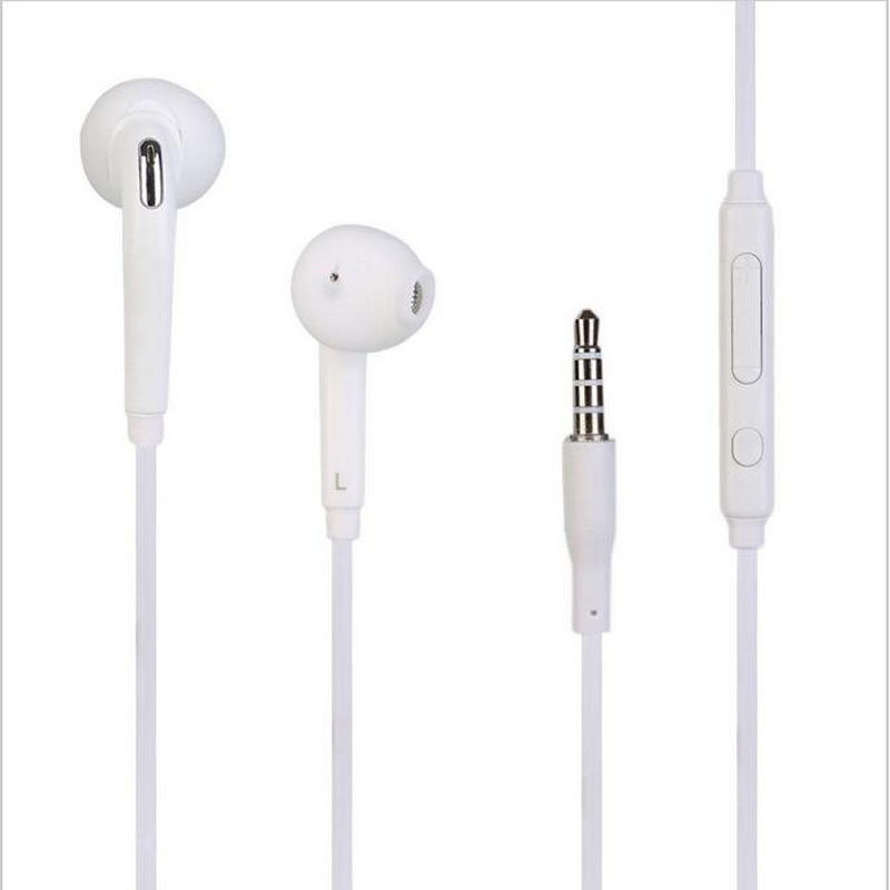 3.5mm jack Headset Earphone Mic&Remote Volume Control for Samsung Galaxy S7 S6 Edge S5 S4 Note 5 4 3 Handfree Headphone Earbuds s6 3 5mm in ear earphones headset with mic volume control remote control for samsung galaxy s5 s4 s7 s6 note 5 4 3 xiaomi 2