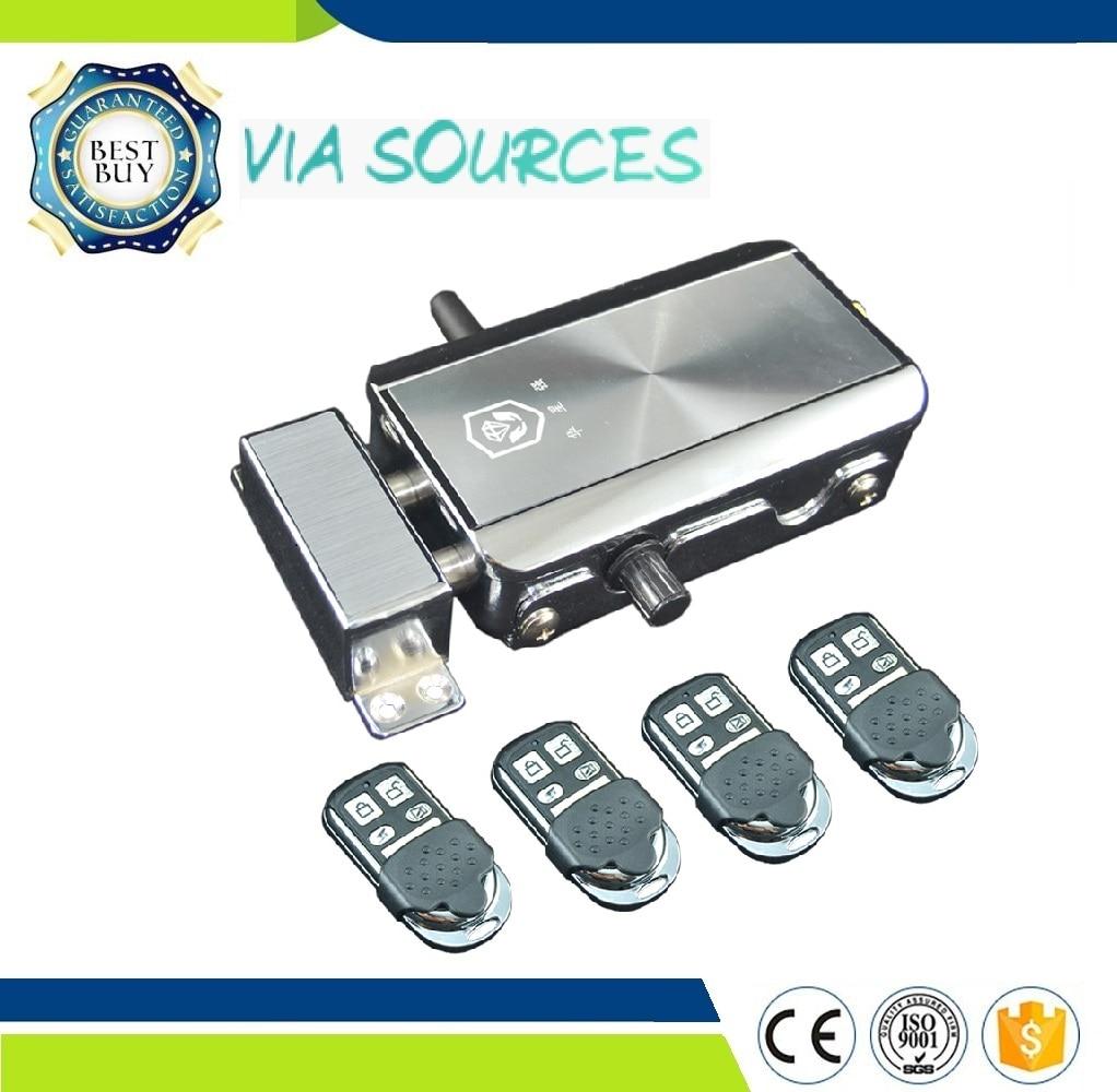 Здесь можно купить  Direct Factory  Invisible Door Locks Smart Invisible Electronic Lock Wireless Remote Control Home Security Invisible Door Locks  Безопасность и защита