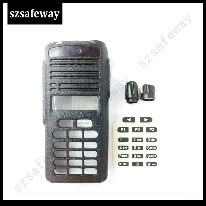 5 Set/LOT Two Way Radio Housing Case Cover  For Motorola CP1660 With Full Keypad Walkie Talkie Accessories Free Shipping