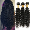 Brazilian Deep Wave Virgin Hair Brazillian Curly Hair 3Pcs Alimice Hair Brazilian Virgin Deep Curly Brazilian Virgin Hair