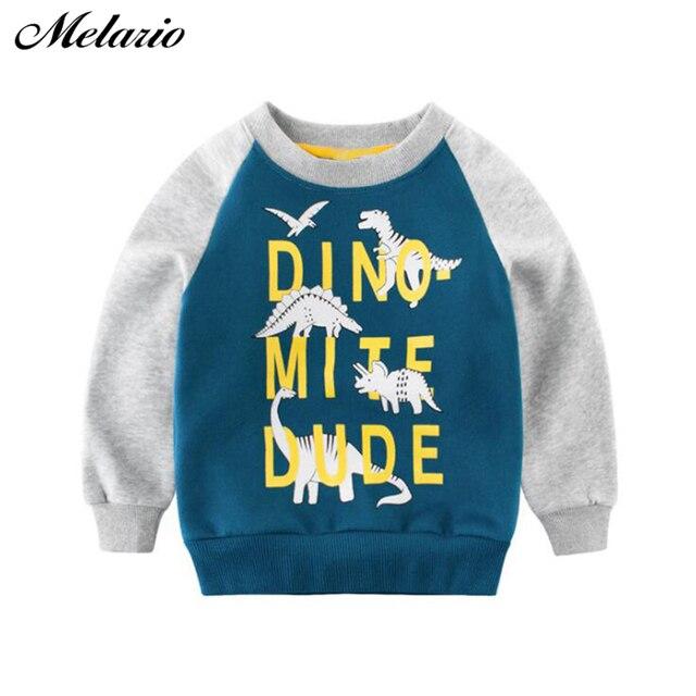 Melario Kinder Kleidung 2019 Neue Frühling Herbst Baby Jungen Mädchen Kleidung Baumwolle Mit Kapuze Sweatshirt kinder Kinder Lässige Sportswear