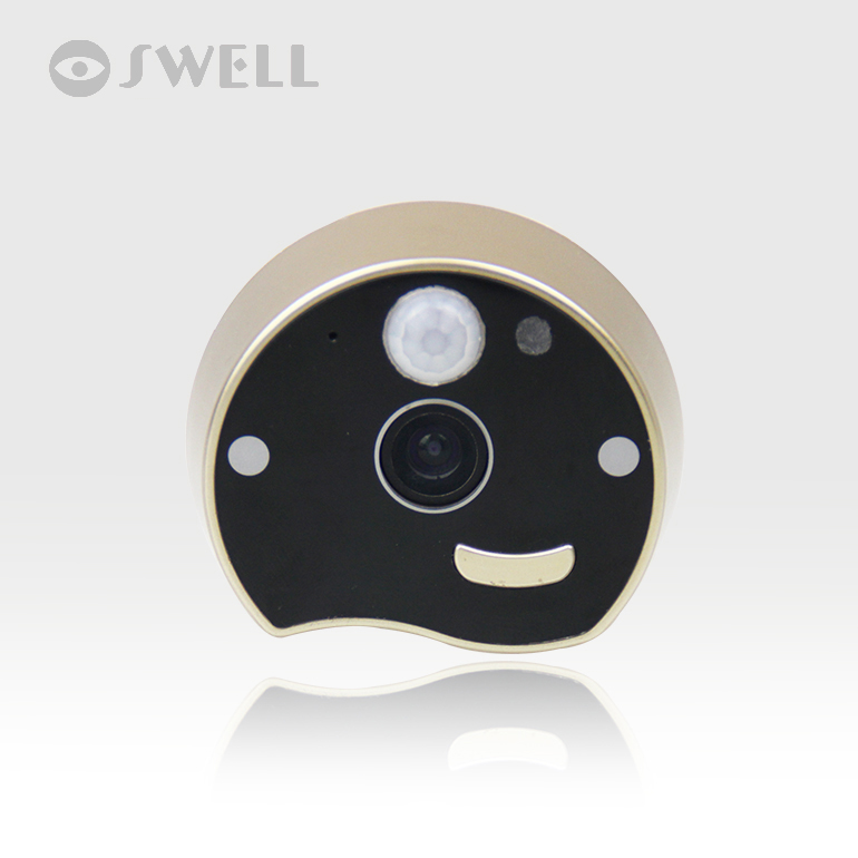 WiFi Doorbell,Door bell Wireless IP intercom interfone,smart phone video unlock alarm by android Mobile ISO Ipad Free Shipping 7inch 2 4ghz wireless intercom unlock video door phone with 3camera