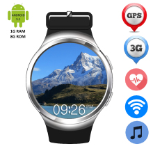 Bluetooth Smart Armbanduhr ZW24 Android 5.1 Hören Rate Monitor 2G/3G SIM Karte GPS Wifi Smartwatch Pedometer MP3 MP4 Sport uhr