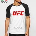 UFC Man T-Shirt Raglan Sleeve Brand Clothing Clothes Ultimate Fighting Championship Diy T Shirt Men Funny High Quality Homme Top