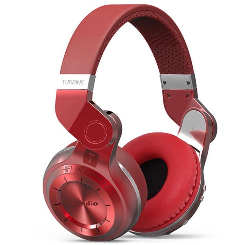 New Original Bluedio T2  Wireless Earphones HiFi Headphones Bluetooth 4.1 Over-ear Stereo Handfree Headset for iphone PC Tablet