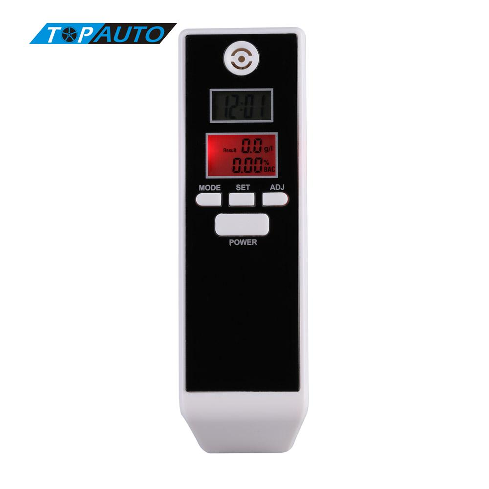 Car-detector Digital Alcohol Tester Professional PFT-661S Alkohol Tester with Backlight Breathalyzer Price Driving Essentials