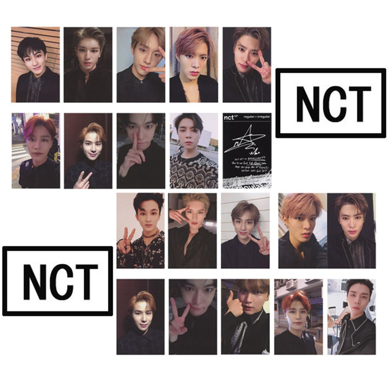 Office & School Supplies 10pcs/set K-pop Nct U 127 New Album Regular-irregular Photo Cards Self Made Photocard Lomo Cards Meticulous Dyeing Processes Stationery Set
