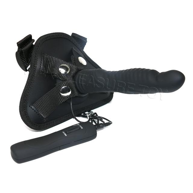 Big Black Dildo Vibrator for Women