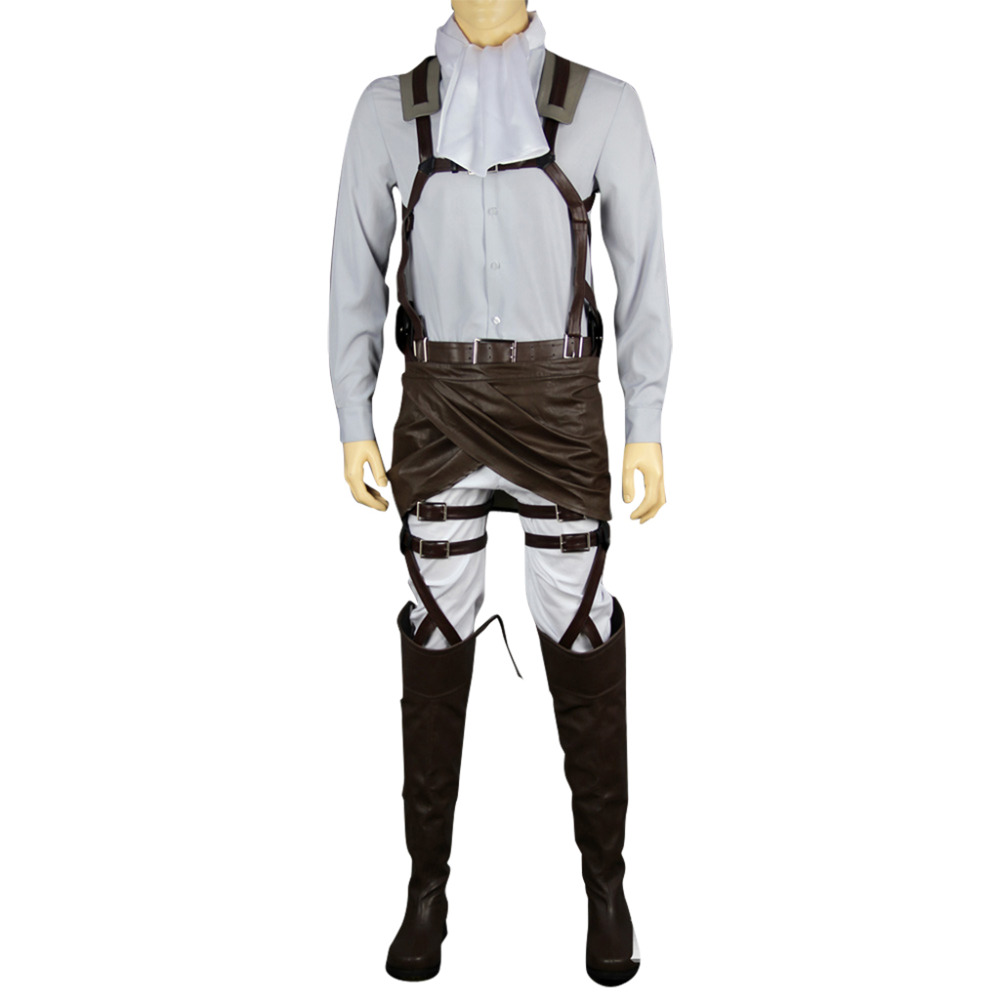 Attack on Titan Cosplay Levi Outfit on Aliexpress.com ...