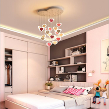 Crystal ceiling fan lamp, living room, fan, restaurant, electric LED