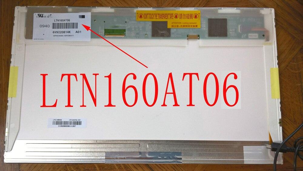 HSD160PHW1 HSD160PHW1-B00 LTN160AT06 16 inch led For ASUS N61 N61vg N61JV HP DV6 CQ61 K61IC Laptop LCD LED Screen Display matrixHSD160PHW1 HSD160PHW1-B00 LTN160AT06 16 inch led For ASUS N61 N61vg N61JV HP DV6 CQ61 K61IC Laptop LCD LED Screen Display matrix