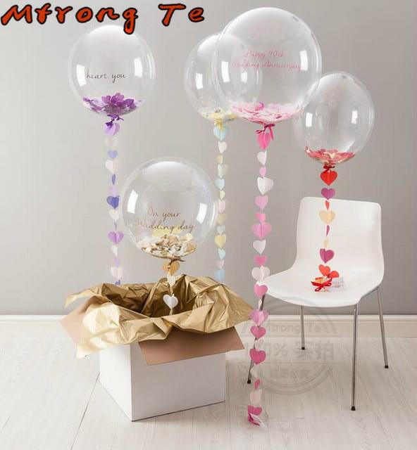 Decoracion globos helio pclot pulgadas de ltex del helio - Como conseguir globos de helio ...