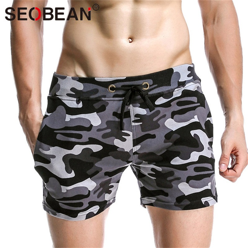 Summer Shorts Men Cotton Casual Military Shorts Brand Mens Camouflage Cargo Workout Short Homme bermuda camuflada