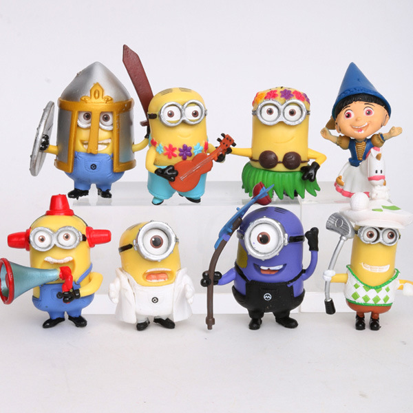 Hot Sale Minions Mcdonalds Minion Toys Dolls Despicable Me Anime