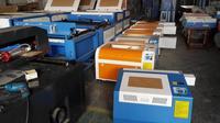 Easy Operation rubber stamp laser engraving machine / K3040 mdf laser cutting machine price