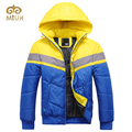 Hat Detachable Hooded Casual Men Big Size 2XL Yellow Blue Human Being Cotton Hot Warm Russia Argentina  US Jacket Coat