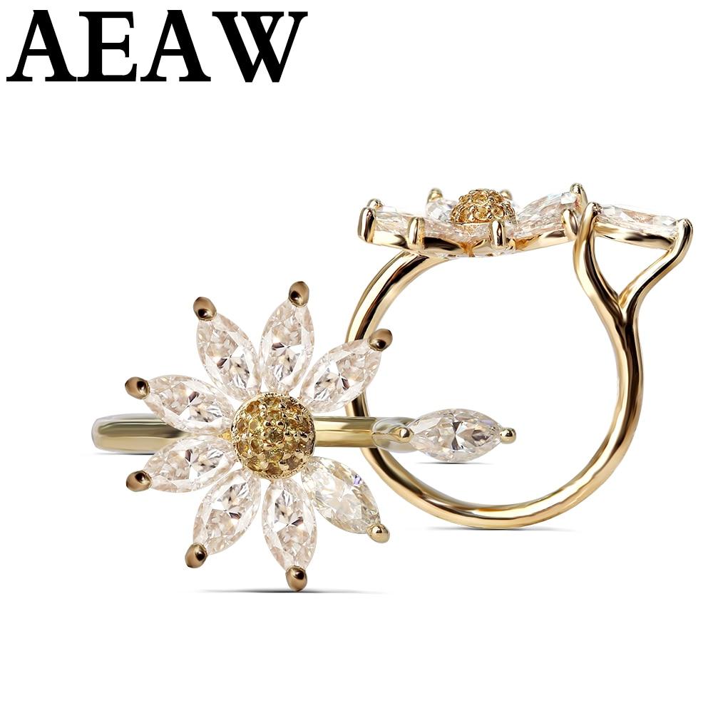 Gruszka Cut 4ct 12x8mm Moissanite pierścień 14 k białe złoto dla kobiet DEF kolor doskonały krój Solarite z gruszką i okrągłe i Marquise Cut w Pierścionki od Biżuteria i akcesoria na  Grupa 1
