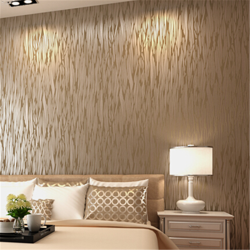 beibehang Top tapete for living room Textile Wallpapers modern Brief Stripe Wall paper Tv Background Wall