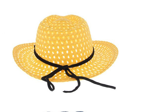 Baby Girls Boys Straw Wide Brim Sun Hat Cool Kids Summer Western Cowboy Hat-in  Hats   Caps from Mother   Kids on Aliexpress.com  382751c29642