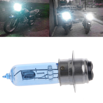 New 1 Pc P15D-25-1 DC 12V 35W White Headlight Bulb Lamp For Motorcycle Electric Vehicle image